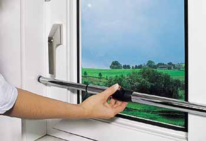 Защита пластиковые окна от воров своими руками.